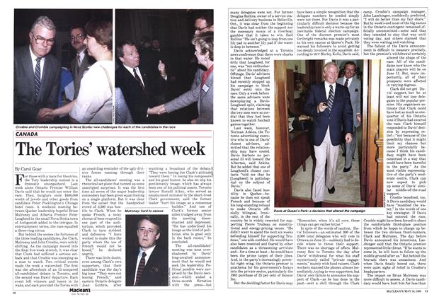 Article Preview: The Tories' watershed week, May 1983 | Maclean's
