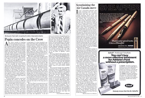 Article Preview: Scrutinizing the Air Canada move, May 1983 | Maclean's