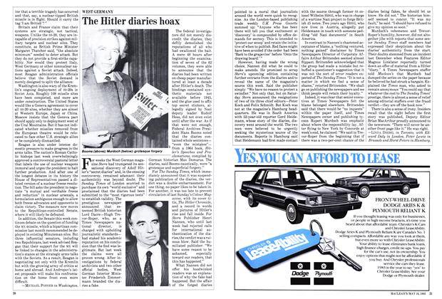 Article Preview: The Hitler diaries hoax, May 1983 | Maclean's