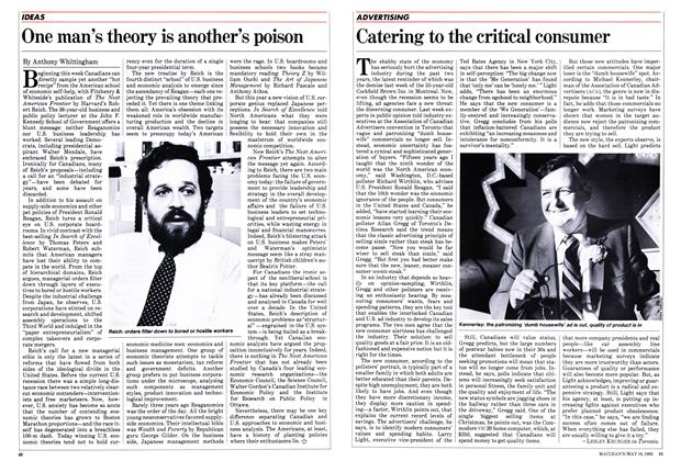 Article Preview: One man's theory is another's poison, May 1983 | Maclean's