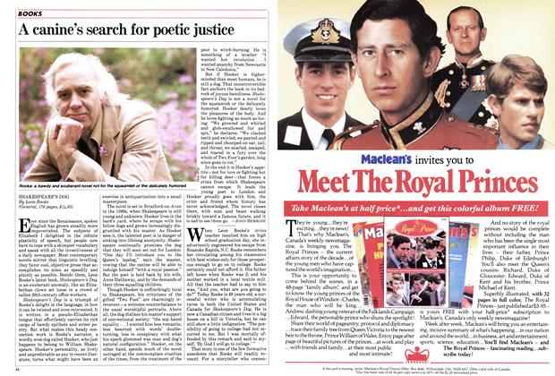 Article Preview: A canine's search for poetic justice, May 1983 | Maclean's