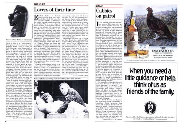 Article Preview: Lovers of their time, May 1983 | Maclean's
