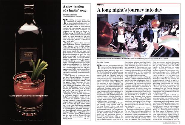 Article Preview: A long night's journey into day, May 1983 | Maclean's
