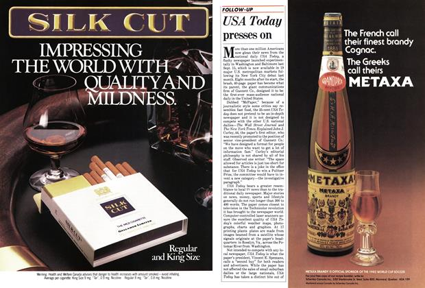 Article Preview: USA Today presses on, May 1983 | Maclean's