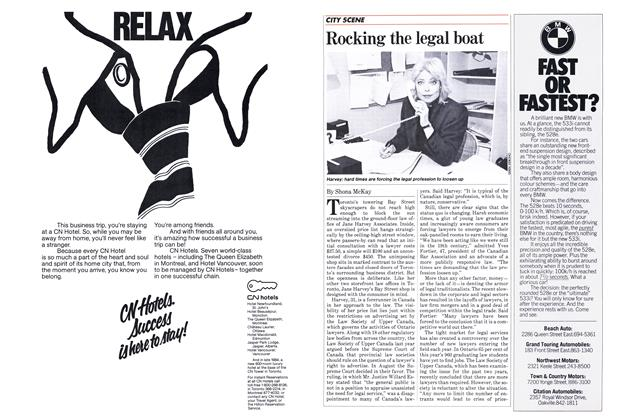 Article Preview: Rocking the legal boat, May 1983 | Maclean's