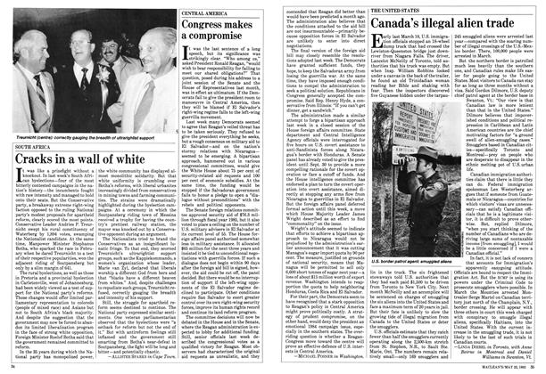 Article Preview: Canada's illegal alien trade, May 1983 | Maclean's