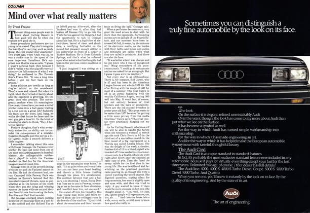 Article Preview: Mind over what really matters, May 1983 | Maclean's