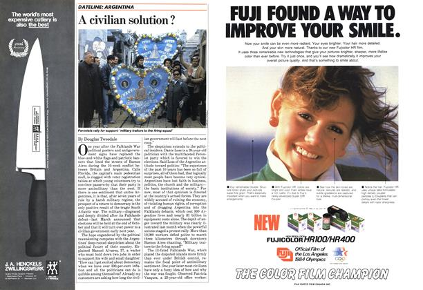 Article Preview: A civilian solution ?, May 1983 | Maclean's