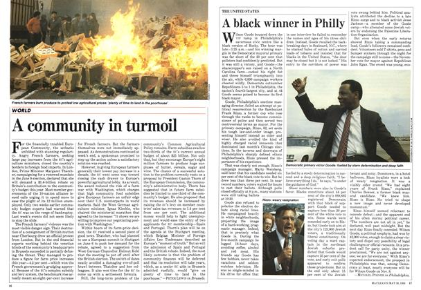 Article Preview: A black winner in Philly, May 1983 | Maclean's