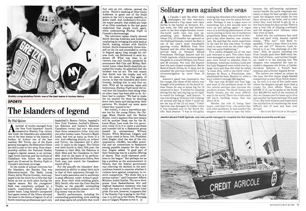 Article Preview: The Islanders of legend, May 1983 | Maclean's