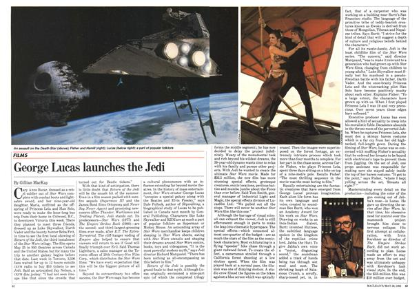 Article Preview: George Lucas launches the Jedi, May 1983 | Maclean's