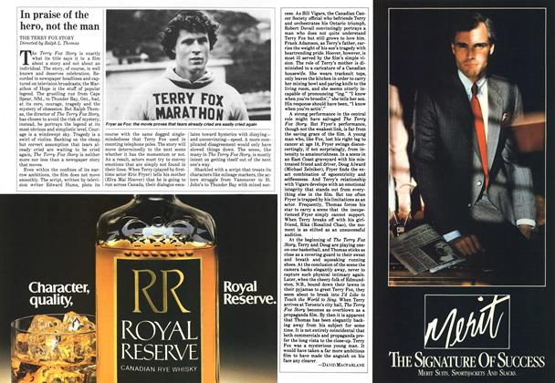 Article Preview: In praise of the hero, not the man, May 1983 | Maclean's