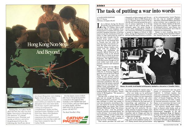 Article Preview: The task of putting a war into words, May 1983 | Maclean's