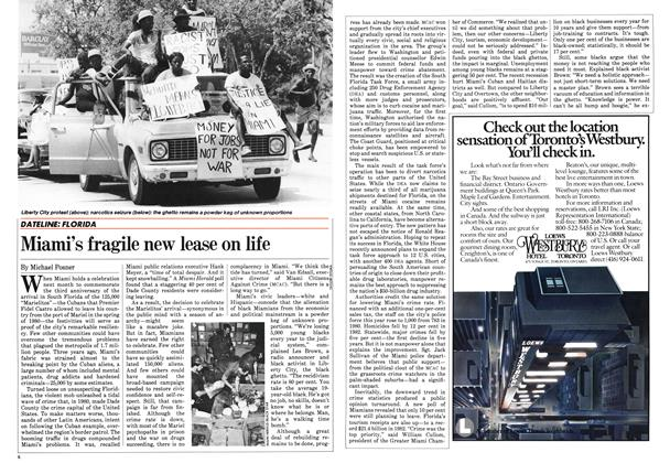 Article Preview: Miami's fragile new lease on life, May 1983 | Maclean's