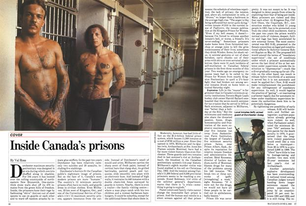 Article Preview: Inside Canada's prisons, June 1983 | Maclean's