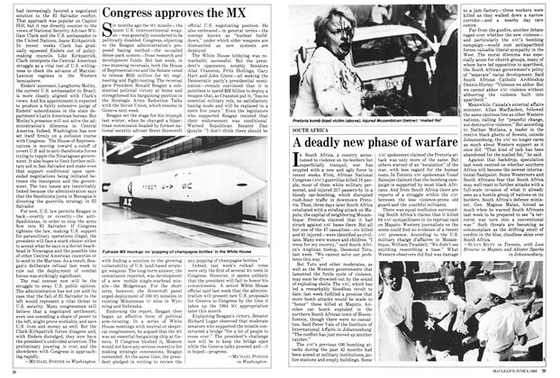 Article Preview: Congress approves the MX, June 1983 | Maclean's
