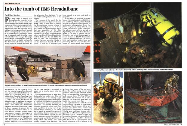 Article Preview: Into the tomb of HMS Breadalbane, June 1983 | Maclean's