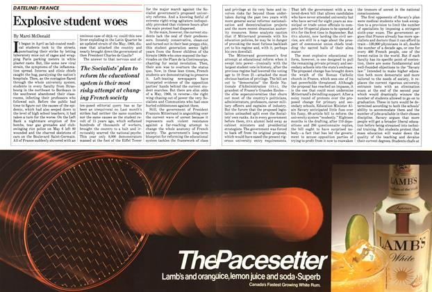 Article Preview: Explosive student woes, June 1983 | Maclean's