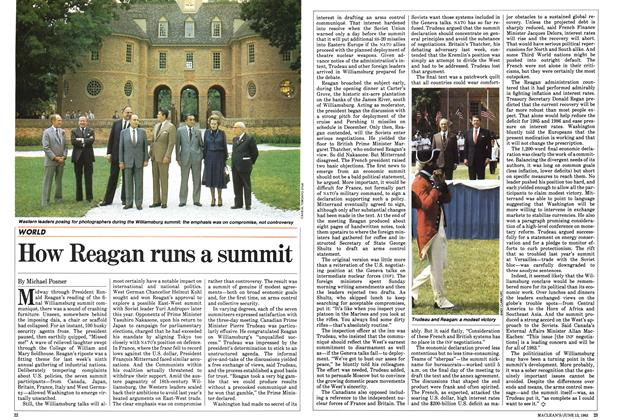 Article Preview: How Reagan runs a summit, June 1983 | Maclean's