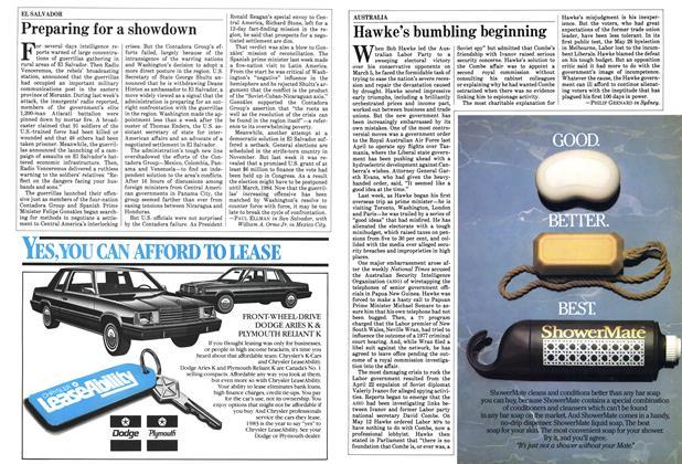 Article Preview: Hawke's bumbling beginning, June 1983   Maclean's