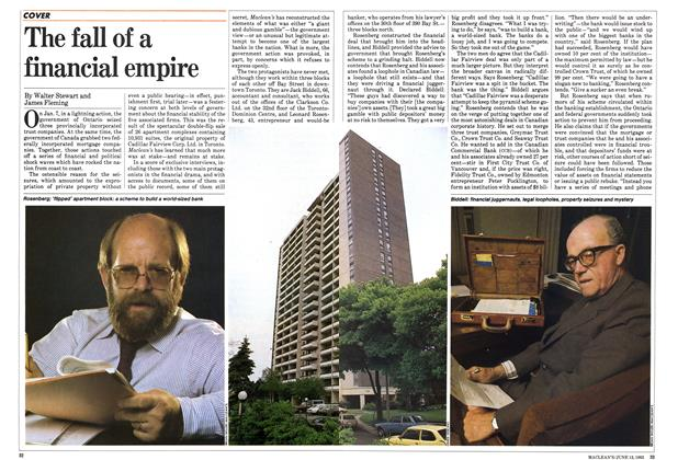 Article Preview: The fall of a financial empire, June 1983 | Maclean's
