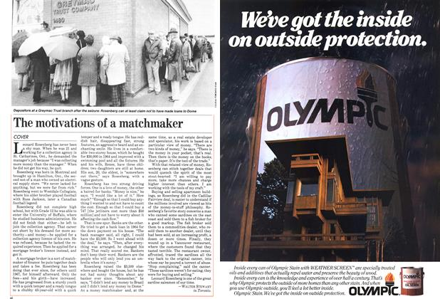 Article Preview: The motivations of a matchmaker, June 1983 | Maclean's