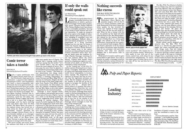 Article Preview: If only the walls could speak out, June 1983 | Maclean's