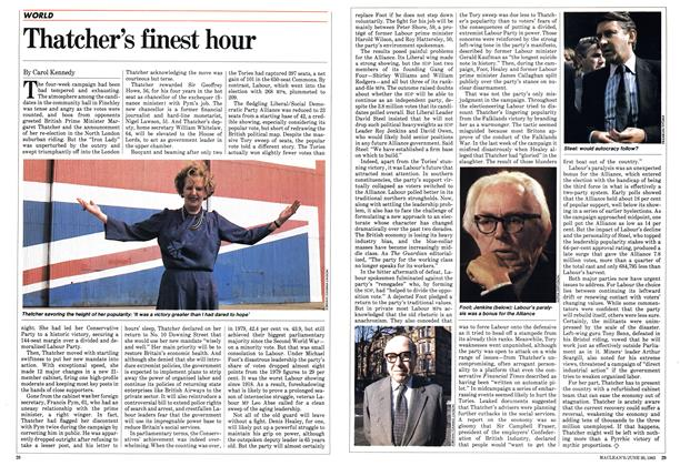 Article Preview: Thatcher's finest hour, June 1983 | Maclean's