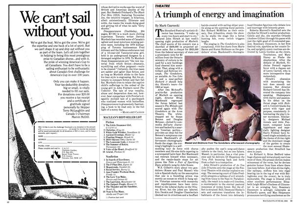 Article Preview: A triumph of energy and imagination, June 1983 | Maclean's