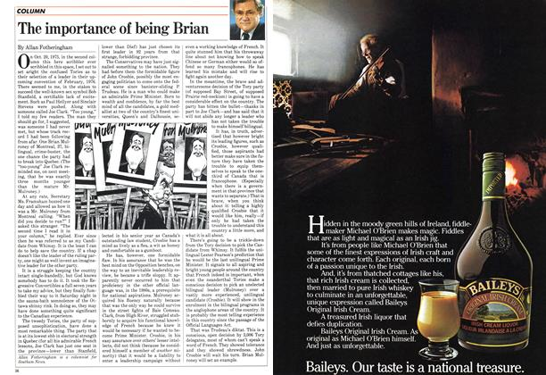 Article Preview: The importance of being Brian, June 1983 | Maclean's