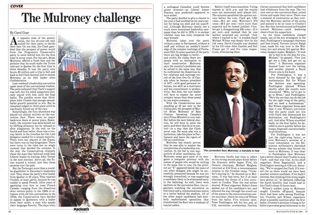 Article Preview: The Mulroney challenge, June 1983 | Maclean's