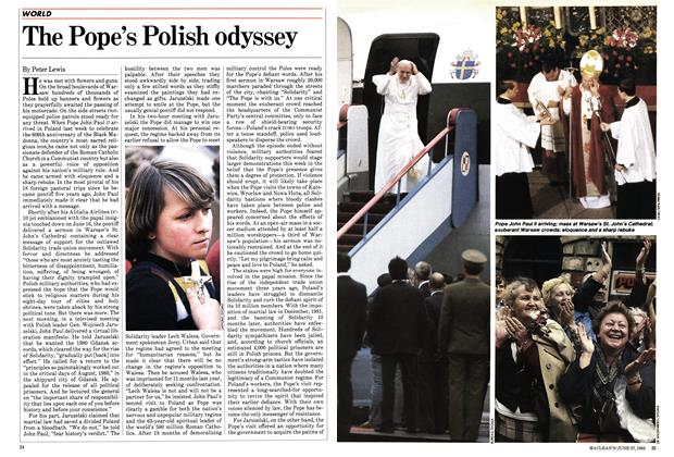 Article Preview: The Pope's Polish odyssey, June 1983 | Maclean's