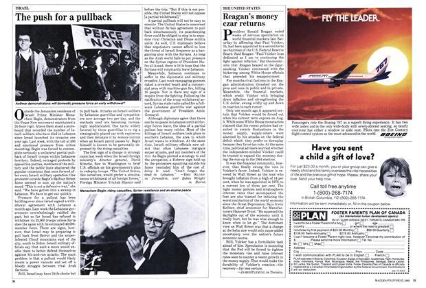 Article Preview: Reagan's money czar returns, June 1983 | Maclean's