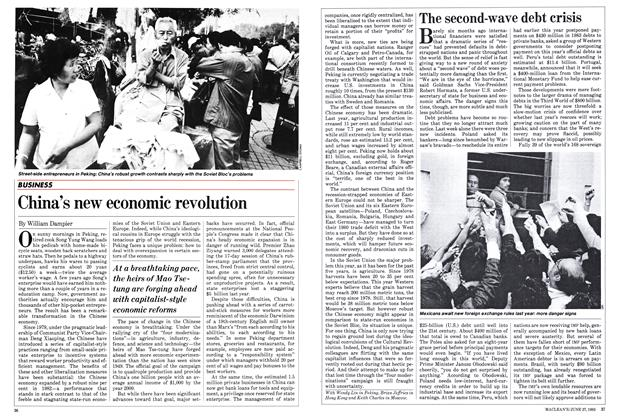 Article Preview: China's new economic revolution, June 1983 | Maclean's