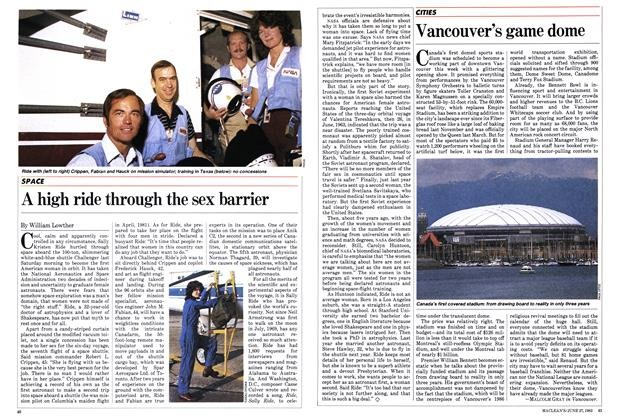 Article Preview: Vancouver's game dome, June 1983 | Maclean's