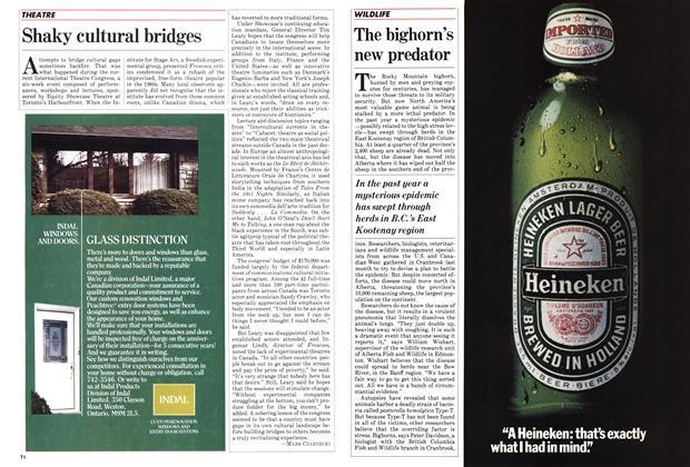 Article Preview: Shaky cultural bridges, June 1983 | Maclean's