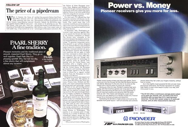 Article Preview: The price of a pipedream, June 1983 | Maclean's