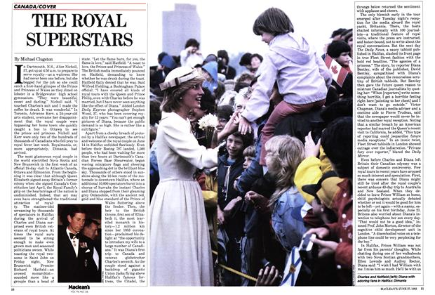Article Preview: THE ROYAL SUPERSTARS, June 1983 | Maclean's
