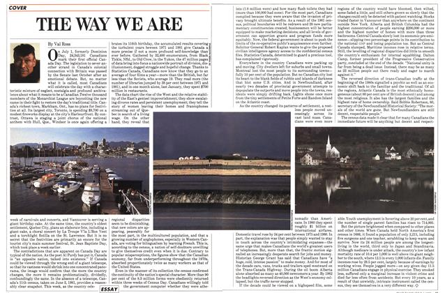 Article Preview: THE WAY WE ARE, July 1983 | Maclean's