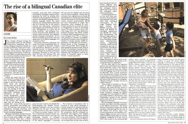 Article Preview: The rise of a bilingual Canadian elite, July 1983 | Maclean's