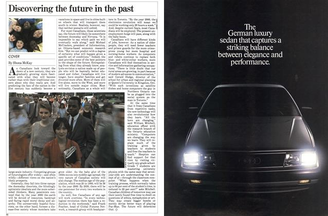 Article Preview: Discovering the future in the past, July 1983 | Maclean's