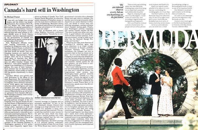 Article Preview: Canada's hard sell in Washington, July 1983 | Maclean's
