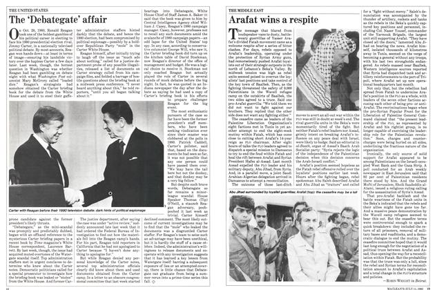 Article Preview: Arafat wins a respite, July 1983 | Maclean's