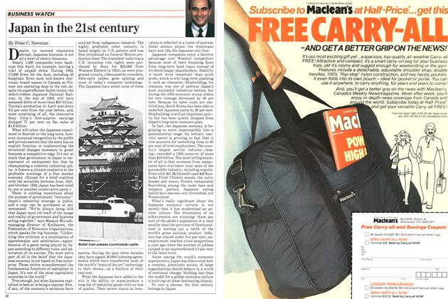 Article Preview: Japan in the 21st century, July 1983 | Maclean's