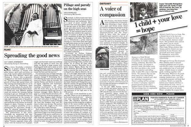 Article Preview: A voice of compassion, July 1983 | Maclean's