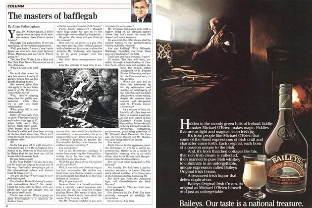 Article Preview: The masters of bafflegab, July 1983 | Maclean's
