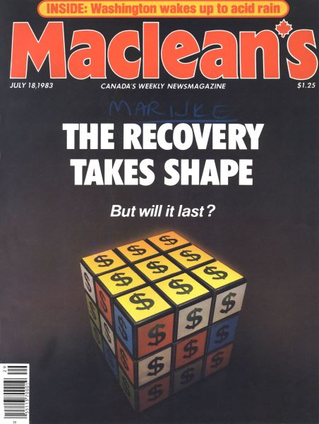 Issue: - July 1983   Maclean's