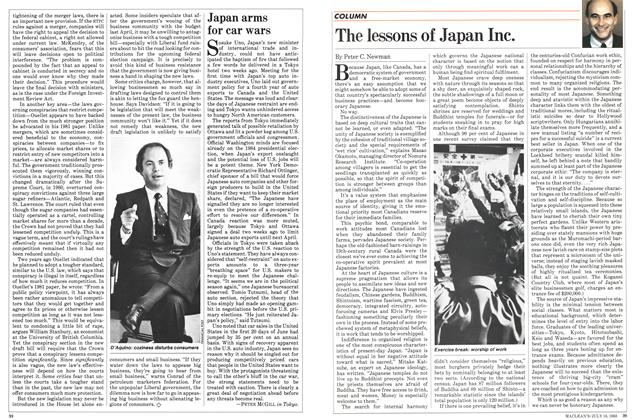 Article Preview: The lessons of Japan Inc., July 1983 | Maclean's