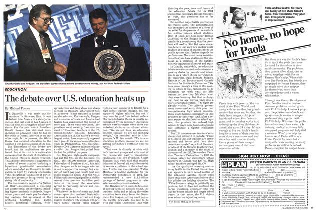 Article Preview: The debate over U.S. education heats up, July 1983 | Maclean's