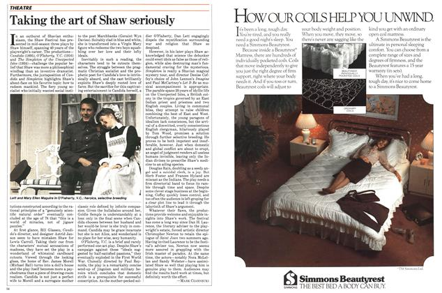 Article Preview: Taking the art of Shaw seriously, July 1983 | Maclean's